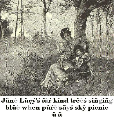 Woman and girl sitting under a tree